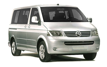 Book a -  VW Transporter 9 Seats - with Car Hire in Algarve